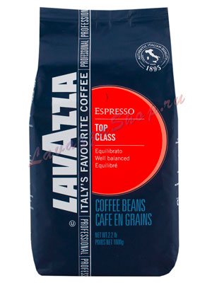 Кофе Lavazza (Лавацца) в зернах Top Class